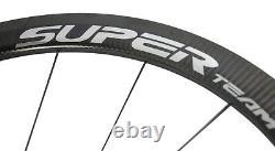 1342g Light Weigt Road Bike Wheels 40mm Depth 25mm U Shape Wheelset Smith Hub