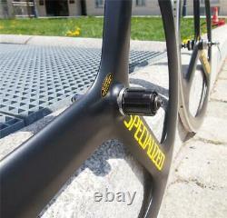 1980s Wheelset Specialized TRI SPOKE Carbon Clincher Wheels 700c Road Bike