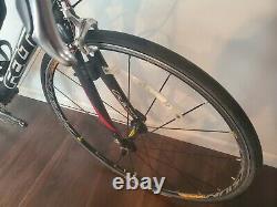 2006 Felt F3C Dura Ace Carbon 54cm Road Bike Mavic Aksium Race Wheels
