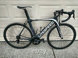 2013 Litespeed C1R Aero Road Bike, Medium/54, SRAM RIVAL/RED 2X10, Carbon wheels