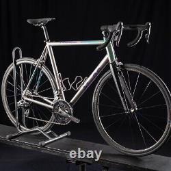 2018 No. 22 Great Divide Performance Road Bike Titanium Red Etap Carbon Wheels