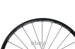 24mm Carbon Wheels Road Bike 700C Light weight White Superteam Wheelset R13 Hub
