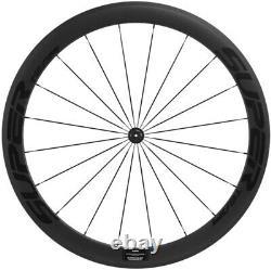 25mm U Shape 50mm Depth Carbon Wheels Road Bike Clincher Carbon Bicycle Wheelset