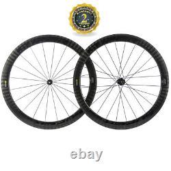 25mm Width Carbon Wheelset Superteam 50mm Clincher Road Bike DT350 Hub wheels