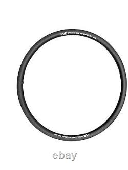 30mm Road Light 25 Wide 700c Asymetric Carbon TUBELESS Clincher Rim 28 Hole