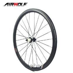 3825mm Carbon Wheelset 700c Clincher Road Bike Bicycle Wheels R13 Hub Rim Brake