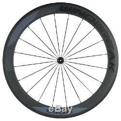 38/50/60/88mm Carbon Wheelset 700C Road Bicycle Cycle Wheels with Basalt Brake