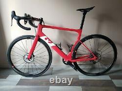 3T Strada Team Size L Red/White, Aero Disc Road Bike, Carbon Frame & Wheels