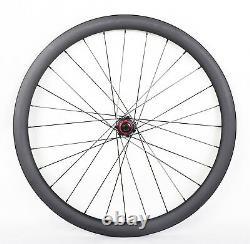 40mm Cyclocross Carbon Wheel Sapim cxray Disc brake Clincher 700C Road Bike Matt