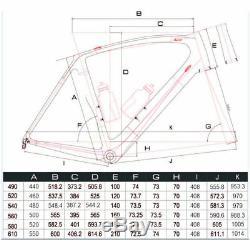 49cm AERO Carbon Frame Road Bike 700C Alloy Wheel Clincher Fork seatpost V brake