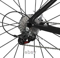 49cm Carbon Road Bike Disc Brake Complete Bicycle Frame 700C Alloy Wheels 28C