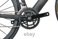 49cm Road Bike Disc brake carbon frame aero alloy wheels 700C race full bicycle