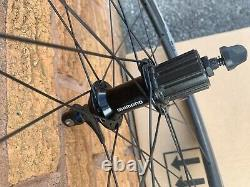 4ZA Cirrus 45 Carbon 700C Road Bike Wheels Wheelset Shimano RS400 Hubs
