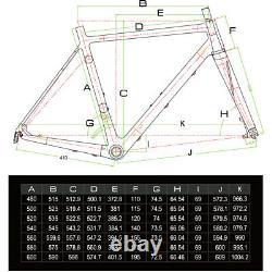 50cm Carbon bicycle Disc brake Complete road bike Race Frame Wheel Alloy 700C
