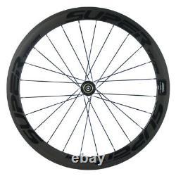 50mm Carbon Wheels 700C Road Bicycle Wheelset Clincher Racing Basalt Wheels