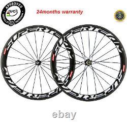 50mm Carbon Wheelset Basalt Braking Surface 700C Road Bike Cycle Carbon Wheels