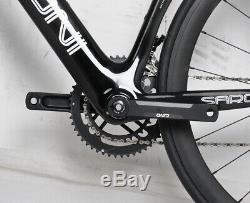 52cm AERO Carbon Frame Road Bike 700C Alloy Wheel Clincher Fork seatpost V brake