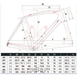 52cm AERO Carbon Frame Road Bike 700C Wheel Clincher Fork seatpost V brake 172.5