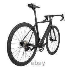 52cm Carbon bicycle Disc brake Complete road bike Race Frame Wheel Alloy 700C
