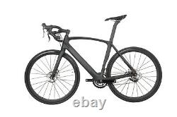 52cm Road Bike Disc brake carbon frame aero alloy wheels 700C race full bicycle