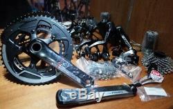 54 AERO Carbon Frame Road Bike 700C Alloy Wheel Clincher Fork Seatpost V Brake