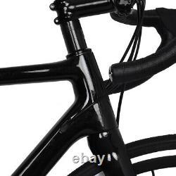 54cm Carbon Road Bike Disc Brake 700C Race Full Bicycle Frame Wheel Clincher 11s