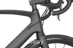 54cm Road Bike Disc brake carbon frame aero alloy wheels 700C race full bicycle