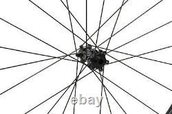 55mm Carbon Cyclocross Gravel Bike Wheel 700C Road Bicycle Wheelset Disc Brakes