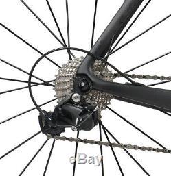56cm AERO Carbon Bicycle Frame Road Shimano 700C Wheel Clincher seatpost V brake