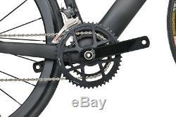 56cm Disc brake AERO Carbon Bike Frame Shimano Road Bicycle 700C Wheels Clincher