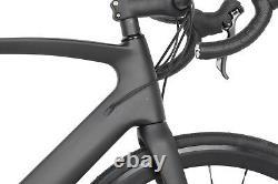 56cm Road Bike Disc brake Full Carbon AERO Frame Wheels Racing Bicycle 11s