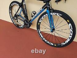 56cm marin stelvio T3 carbon road bike Di2 shimano Ultegra group carbon wheels