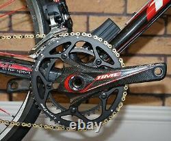 57cm Time Vxrs Ulteam Road Bike Dura Ace Di2 Groupset XXX Lite Carbon Wheels