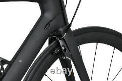 58cm 700C AERO Bike Road V Brake Full carbon wheels Bicycle Vehicle 700X23C UD