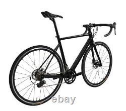 58cm Carbon Road Bike Disc Brake 700C Race Full Bicycle Frame Wheel Clincher 11s