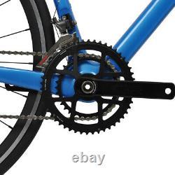 60cm Carbon Road Bicycle V brake Alloy Wheels 700C Frame Blue Full Bike 11s