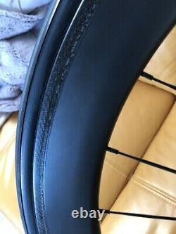 60mm Carbon Wheels Road Bike Carbon Wheelset Novatec 271 Hub 25mm Width 3k Matte