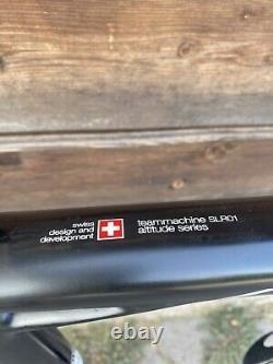 6,9 kg! BMC TEAMmachine SLR01 Carbon Rennrad Vision Metron 55 wheels, roadbike