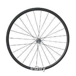 700C 24mm Tubular 20.5mm Road Bike Carbon Wheel with Powerway R13 and CN424