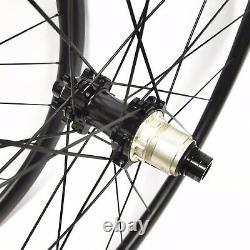 700C 38mm Carbon Wheels gravel bicycle Wheels Road Bike wheelset disc brake hub