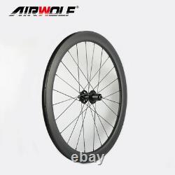 700C 5025mm Carbon Road Bike Wheels CX32 Disc 3K Tubeless Bicycle Wheel Set