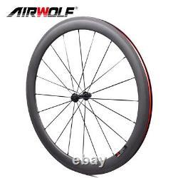 700C 5025mm T1000 Aero Carbon Road Wheelset Bike Racing Bicycle Wheels Tubeless