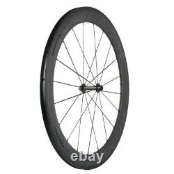700C 60+88 Superteam Carbon Wheelset Road Bike Carbon Wheels Basalt Braking Line