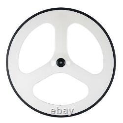 700C 70mm Tri Spoke Carbon Wheelset Road Bike Cycling Carbon Wheels 3spoke set
