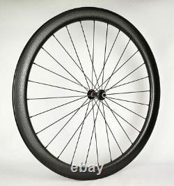 700C Carbon Quick Release Wheelset Road Bike QR Wheels Clincher Rim Brake