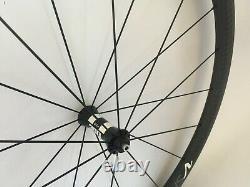 700C Carbon Road Biycle 38mm Clincher Wheelset Straight Pull Hub Bike Wheels