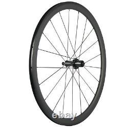 700C Carbon Wheelset Clincher 38mm Road Bicycle Basalt Racing Wheels R7 Hub