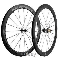 700C Carbon Wheelset Superteam 50mm Carbon Wheels Clincher Road Bicycle Wheelset
