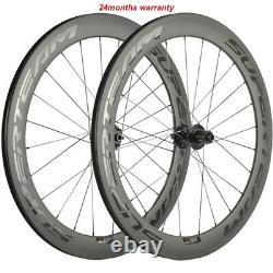 700C Disc Brake Carbon Wheels Superteam 60mm Road Cyclocross Bicycle Wheels