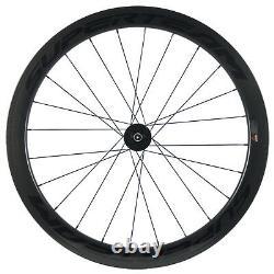 700C Disc Brake Wheels 50mm 25mm Clincher Road Bike Carbon Wheelset Disc Brake